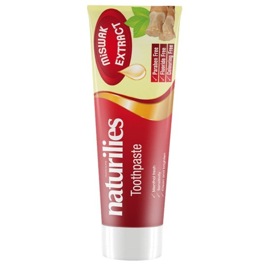 Naturilies toothpaste with Miswak