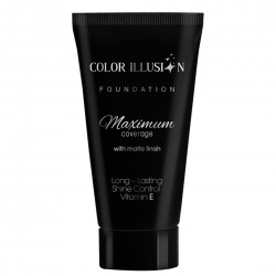 COLOR ILLUSION Long Lasting Matt Makeup - Ivory Bone