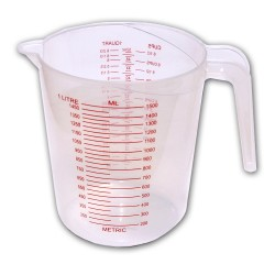 Plastic measuring cup 1500 ml