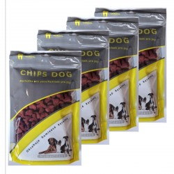 CHIPS DOG Humac - delicacy for dogs 300 gram