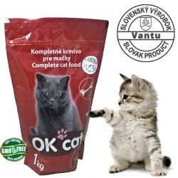 OK CAT granules for cats with SALMON 1 kg