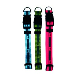 BENY nylon reflective dog collar max. 40 cm