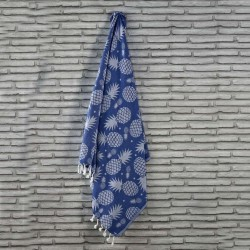 PINEAPPLE beach towel Blue