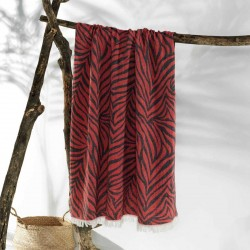 CARNIVAL beach towel red