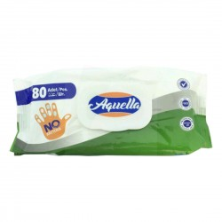 AQUELLA wet wipes antibacterial 80 pcs