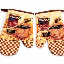 COFFEE kitchen glove 2 pcs
