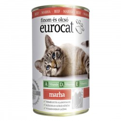 EuroCat BEEF can for cats 415 gram