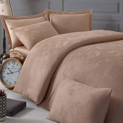 BELUGA beige exclusive damask linen Issimo Home