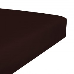Jersey stretch bedsheet - Chocolate