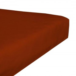 Jersey stretch bedsheet - Brick