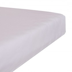 Jersey waterproof stretch bedsheet - White