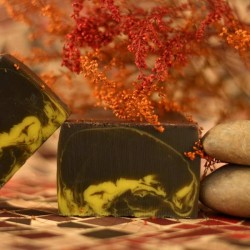 Arabian nights with Moroccan clay Rhassoul and essential oil Neroli - natural handmade soap