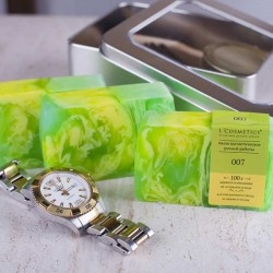 007 (inspired by Giorgio Armani - Sport) - perfumed natural handmade soap