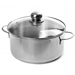 CITY stainless steel pot with lid 2.9 liters