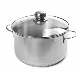 CITY stainless steel pot with lid 3.6 liters