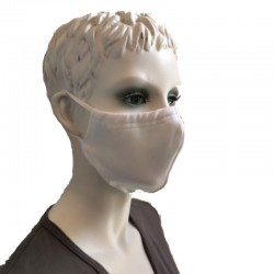 Mask 4-layer Antibacterial knit with silver ions