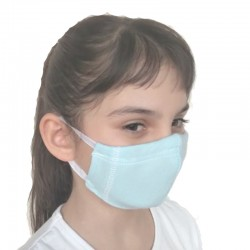Mask 4-layer Antibacterial knit with silver ions - children's