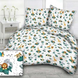 AFRICA BOYS cotton bedding with children's motif