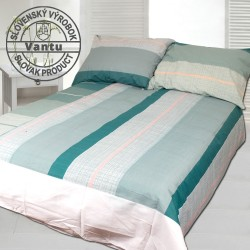 ADELMA cotton bedding - turquoise