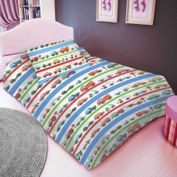 CARS cotton bedding with children's motif