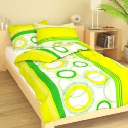 EVELYN cotton bedding - yellow