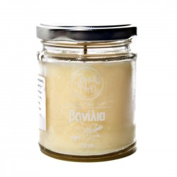 Herbal COTTON Scented Candle in Glass 212 ml