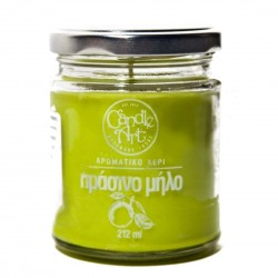 Herbal APPLE Scented Candle in Glass 212 ml