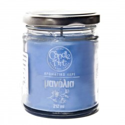 Herbal FLOWERS Scented Candle in Glass 212 ml