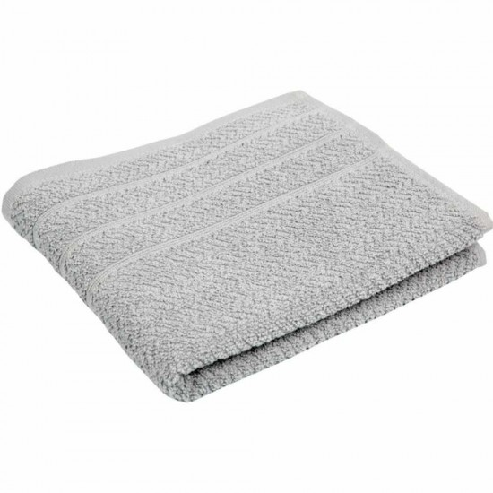 POPCORN gray - terry towel, bath towel